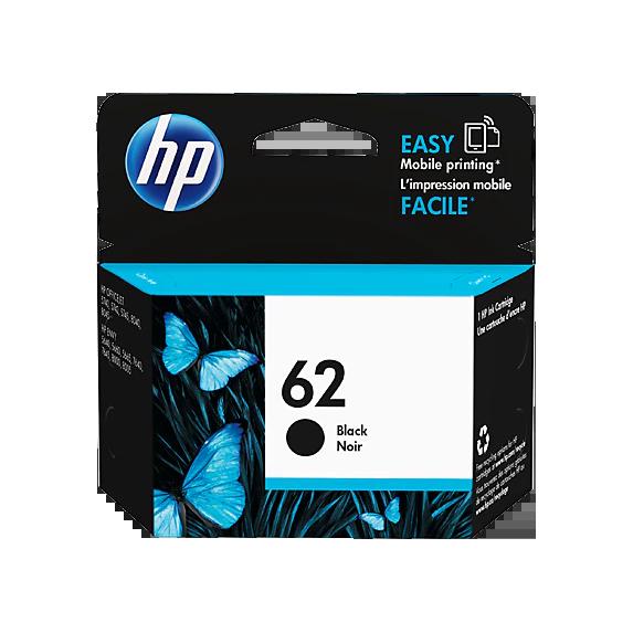 Cartridge HP 62, HP C2P04A - originálny (Čierna)