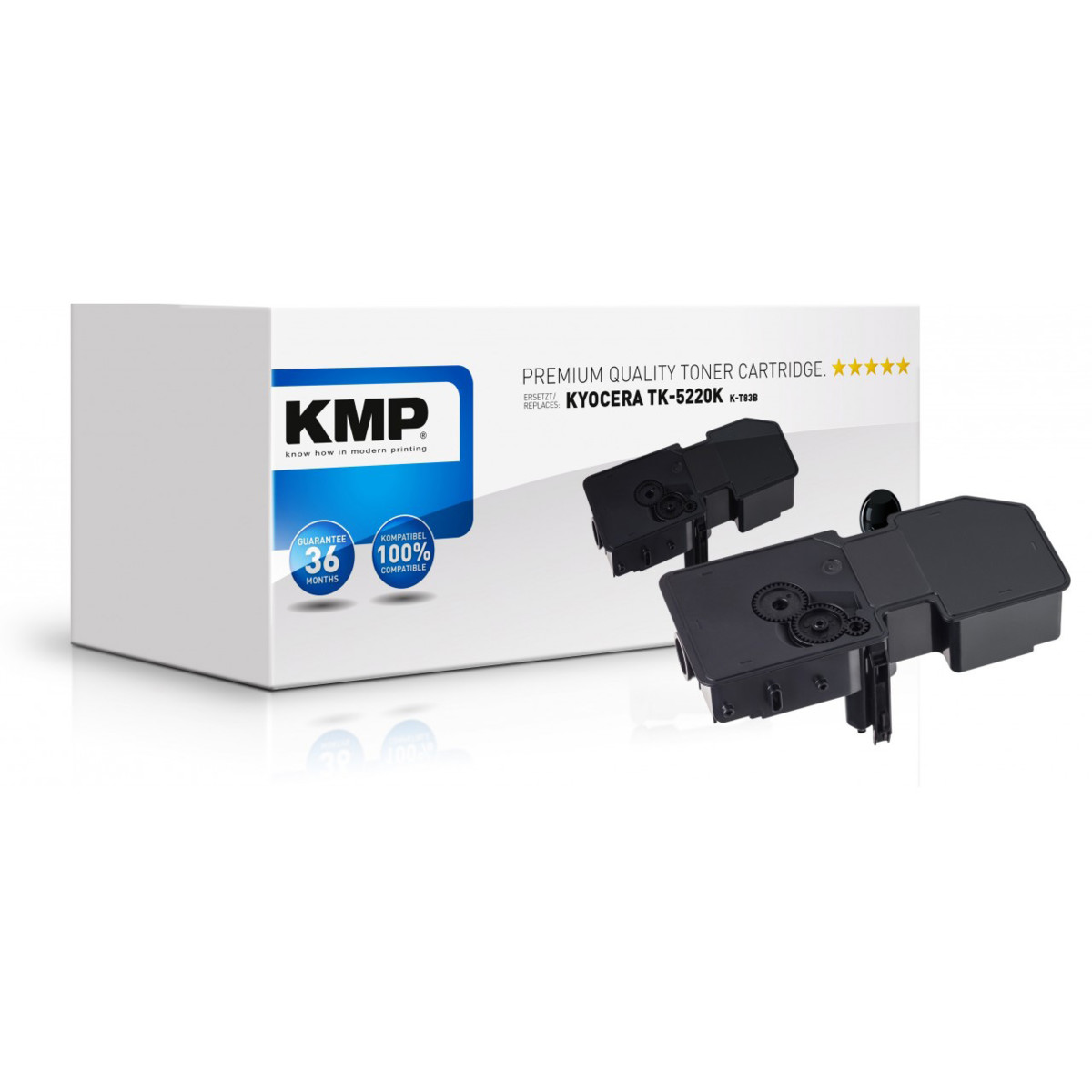 KMP Toner Kyocera TK-5230M, Kyocera 1T02R9BNL0, - kompatibilný s čipom (Purpurový)