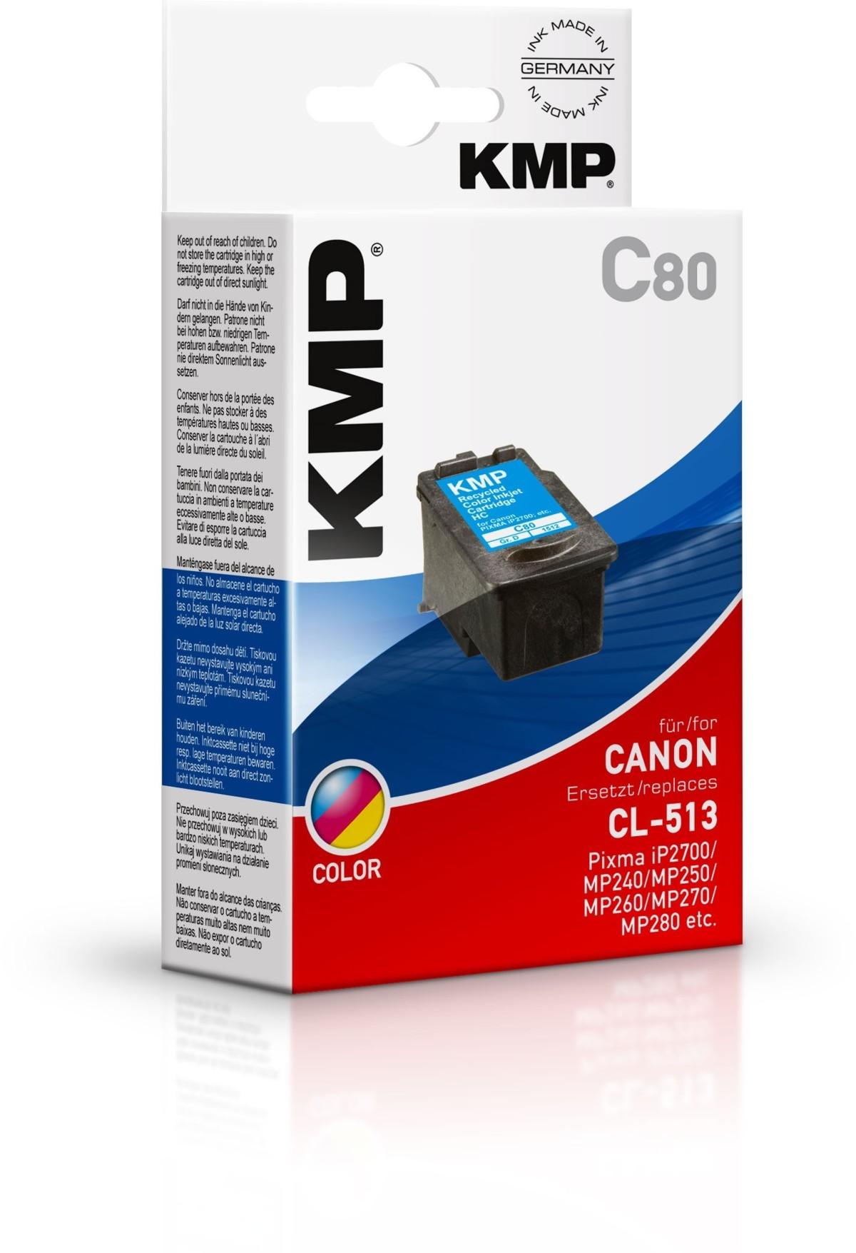 KMP Canon CL-513 - kompatibilní
