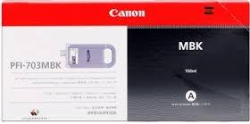 Zásobník Canon PFI-703MBK, 2962B001 (Čierny) - originálný