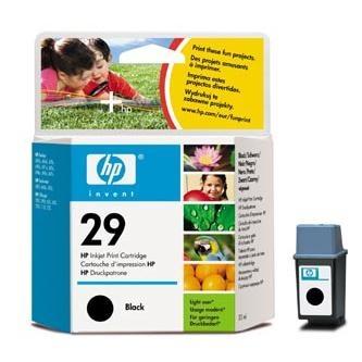 Cartridge HP 29 51629AE (Čierna)% - originál