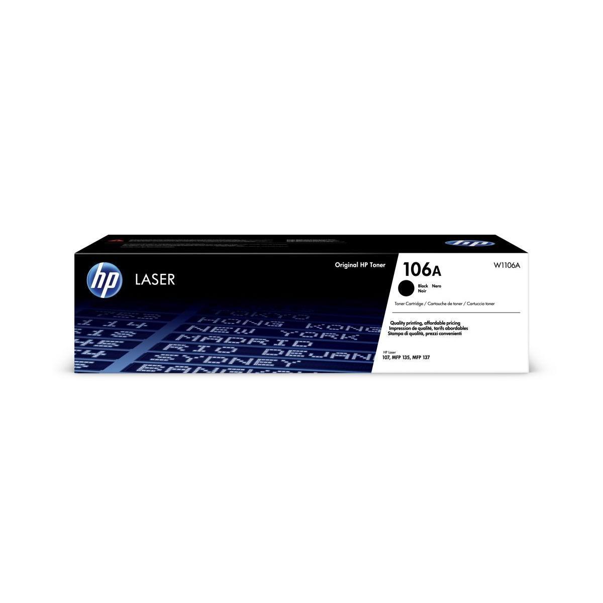 Toner HP 106A, HP W1106A - originálny (Čierny)