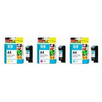 HP Atramentová cartridge HP DesignJet 350, 430, 488, 750C, 755C, 51644C, modrá, No - originál