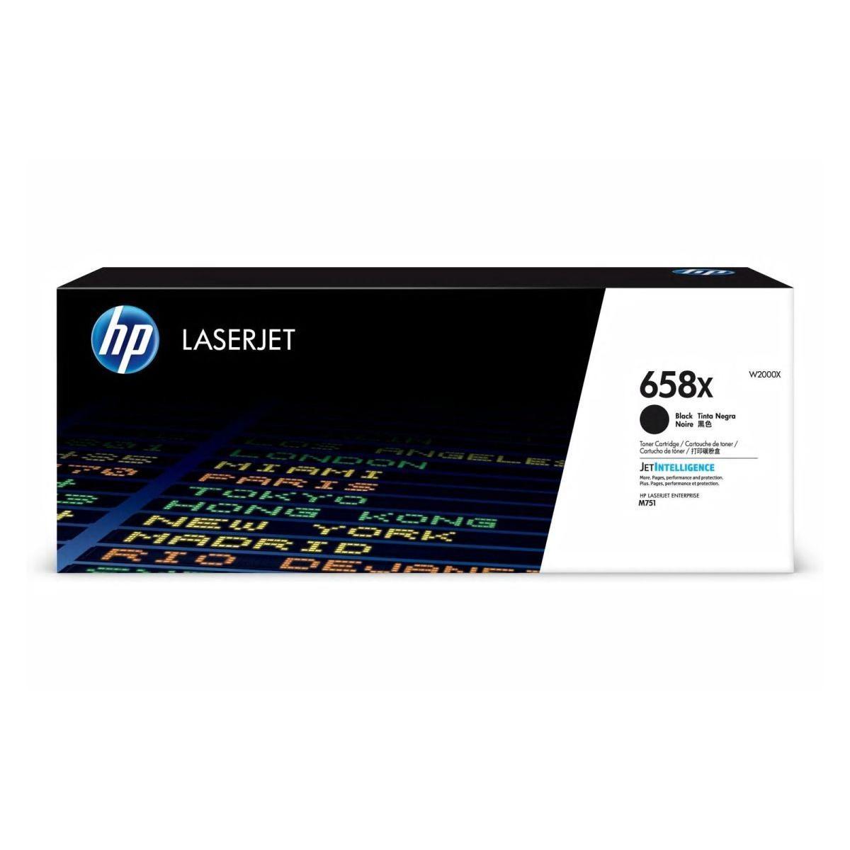 Toner HP 658X, HP W2000X - originálny (Čierny)