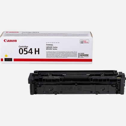 Toner Canon 054H, 3025C002 - originálny (Žltý)