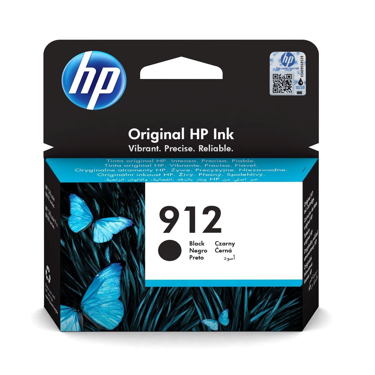 Cartridge HP 912, HP 3YL80AE - originálny (Čierna)
