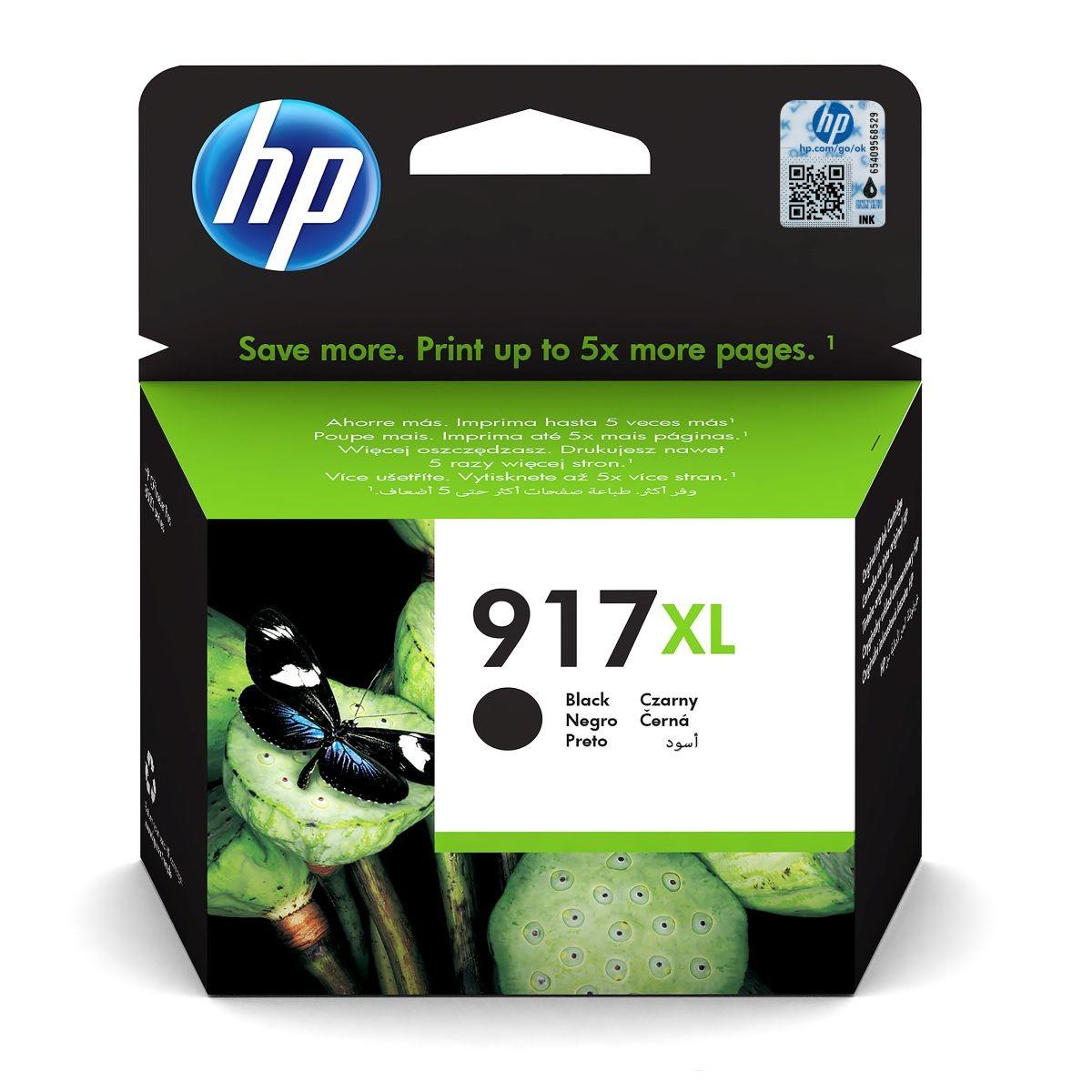 Cartridge HP 917XL, HP 3YL85AE - originálny (Čierna)