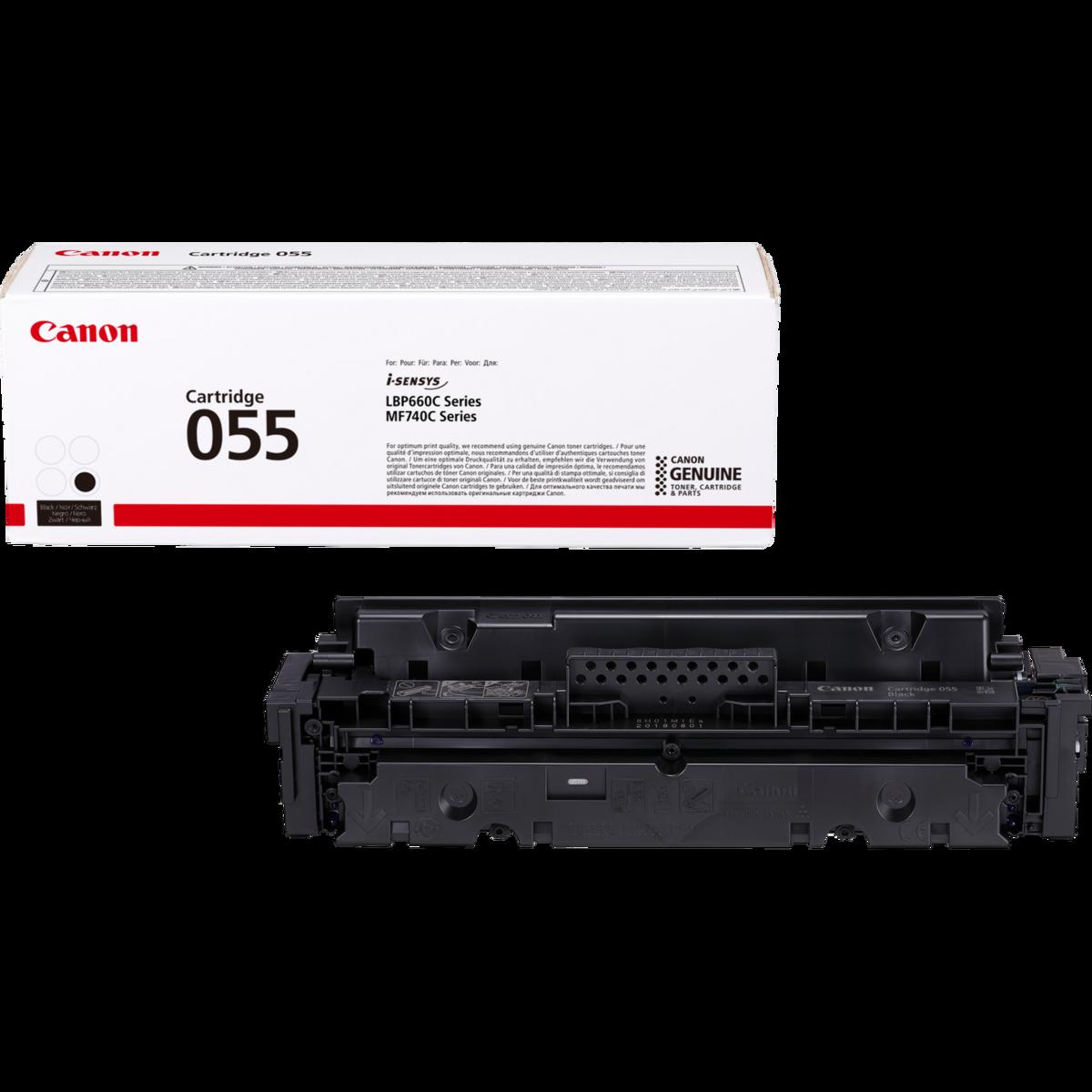 Toner Canon 055, CRG-055, 3016C002 - originálny (Čierny)