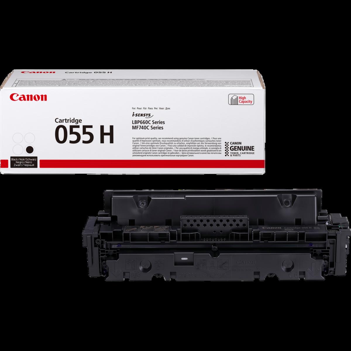 Toner Canon 055H, CRG-055H, 3020C002 - originálny (Čierny)