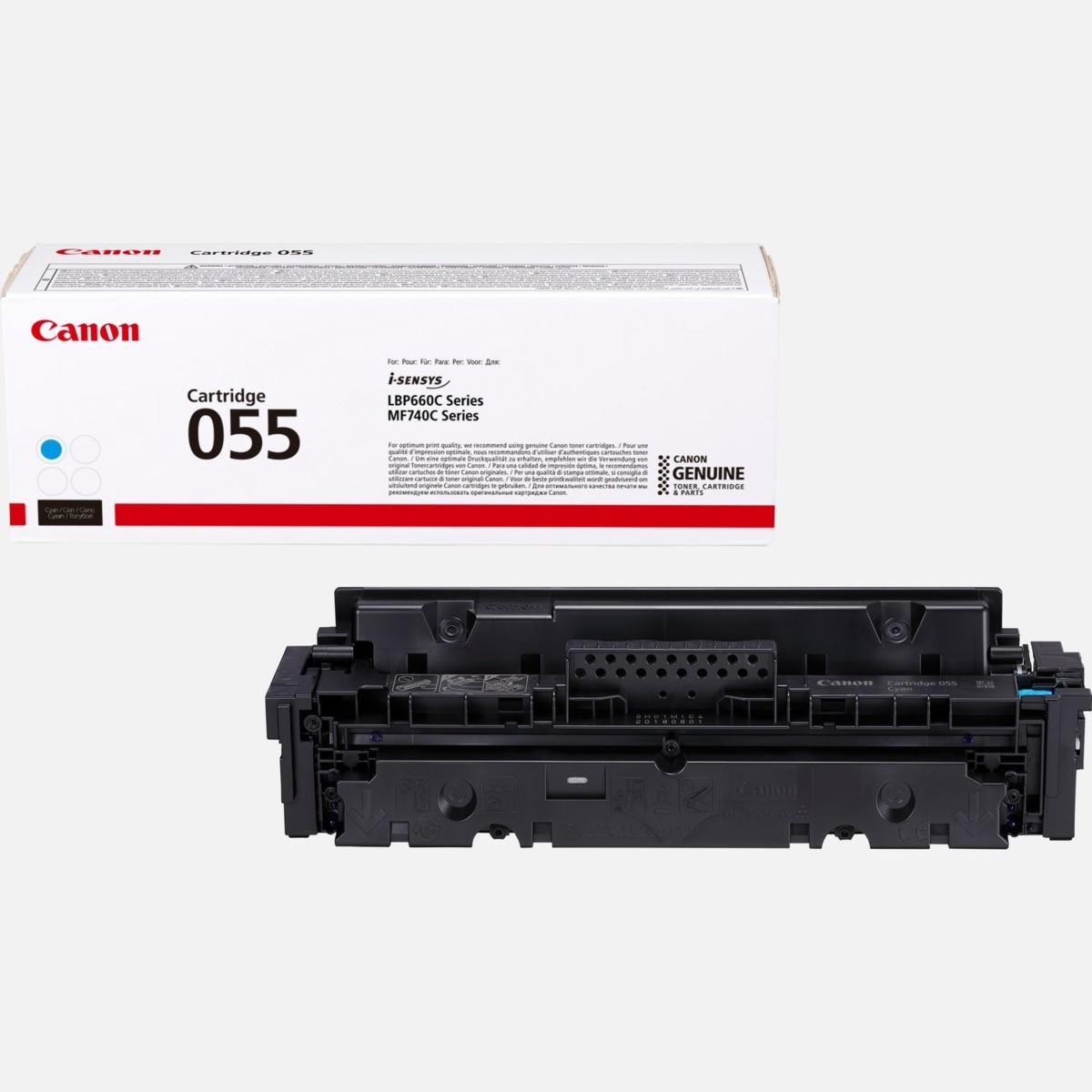 Toner Canon 055, CRG-055, 3015C002 - originálny (Azúrový)