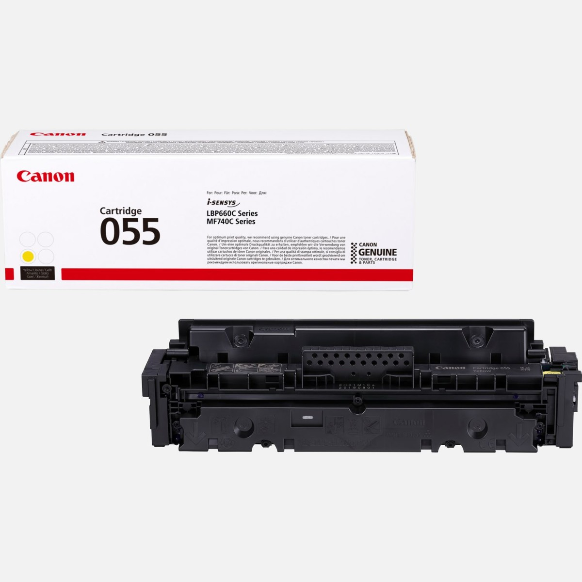 Toner Canon 055, CRG-055, 3013C002 - originálny (Žltý)