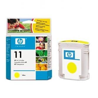 Cartridge HP 11, HP C4838A (Žltý).cz% - originál