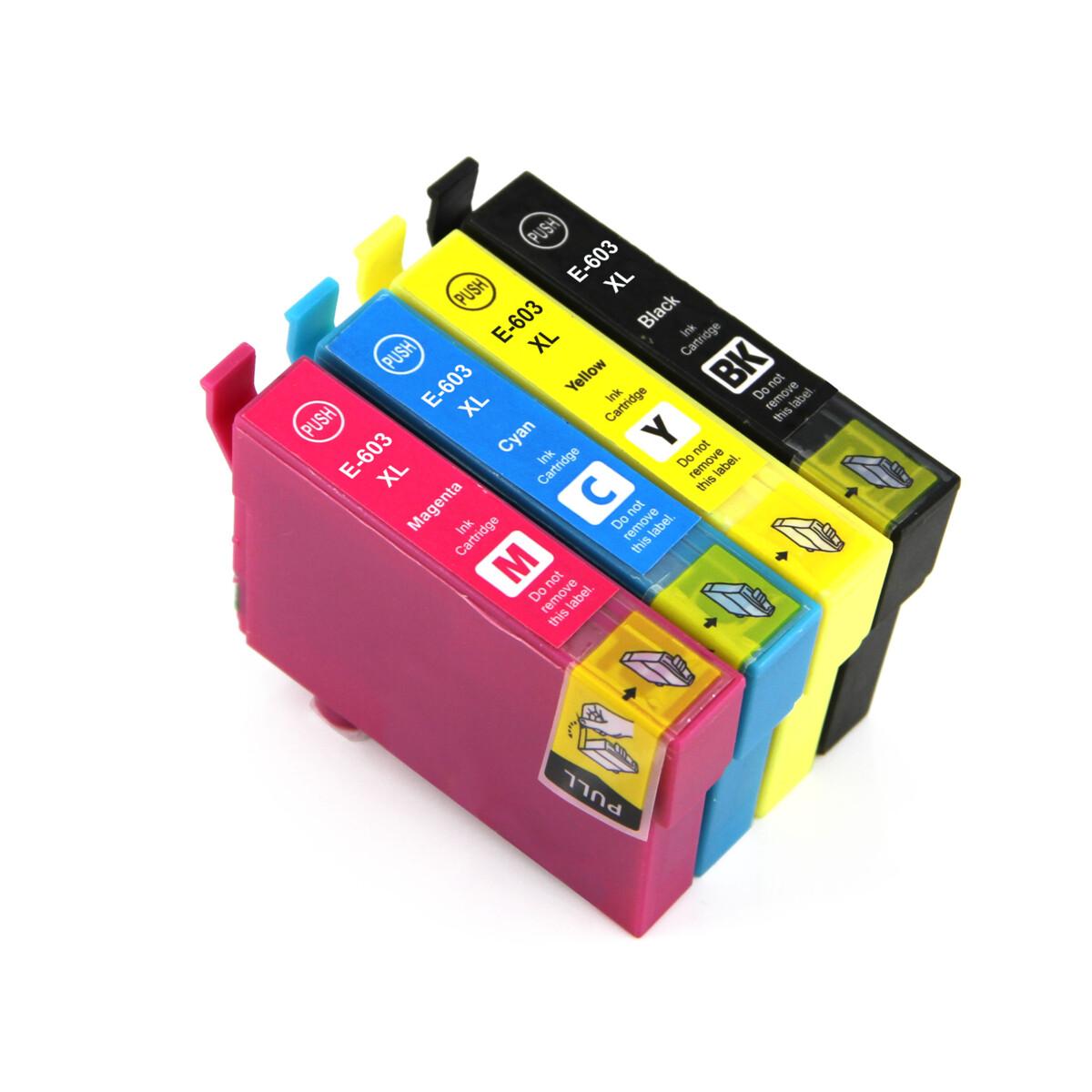 Tonery Náplně Cartridge Epson 603XL, C13T03A64010 - kompatibilný (Multipack CMYK)