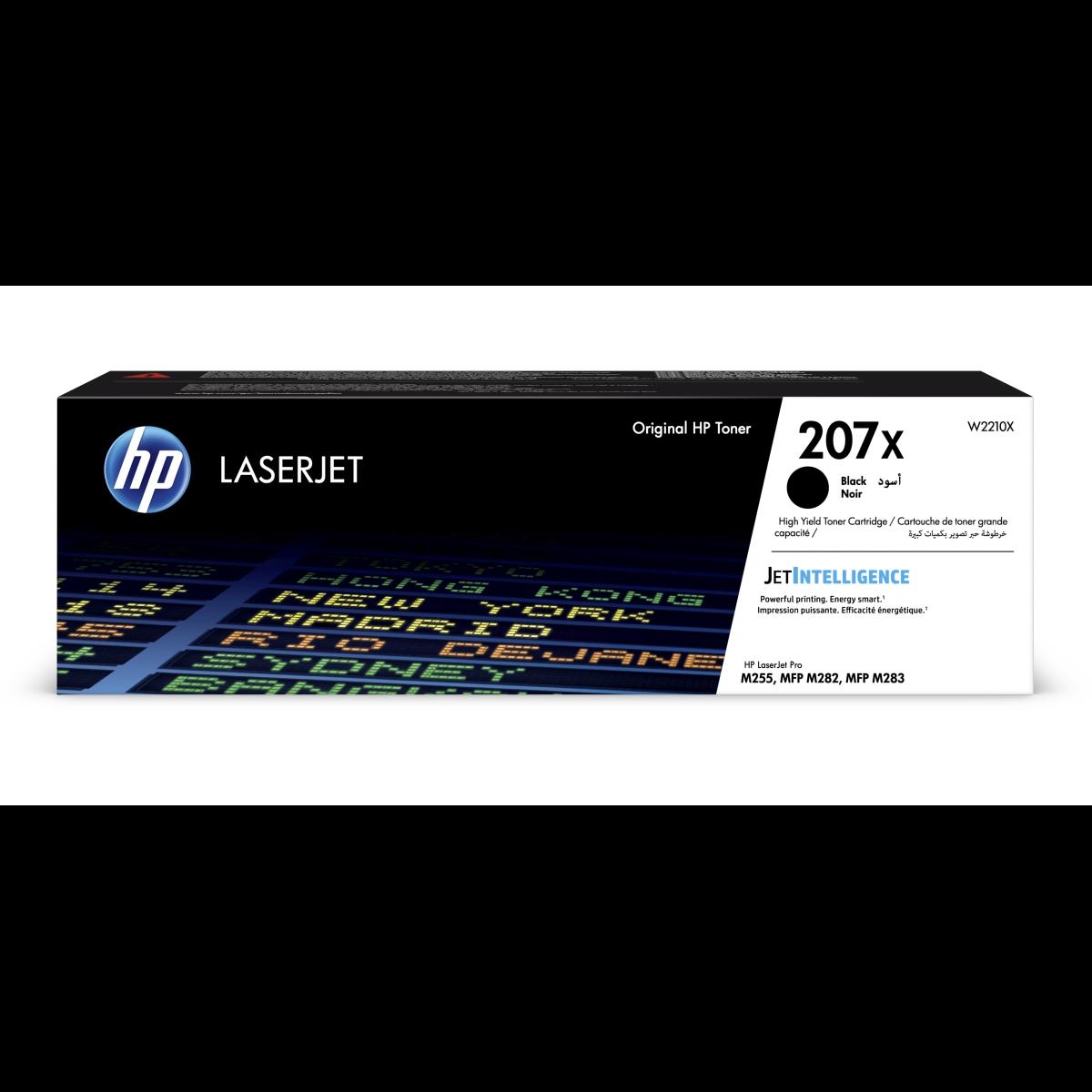 Toner HP 207X, HP W2210X - originálny (Čierny)