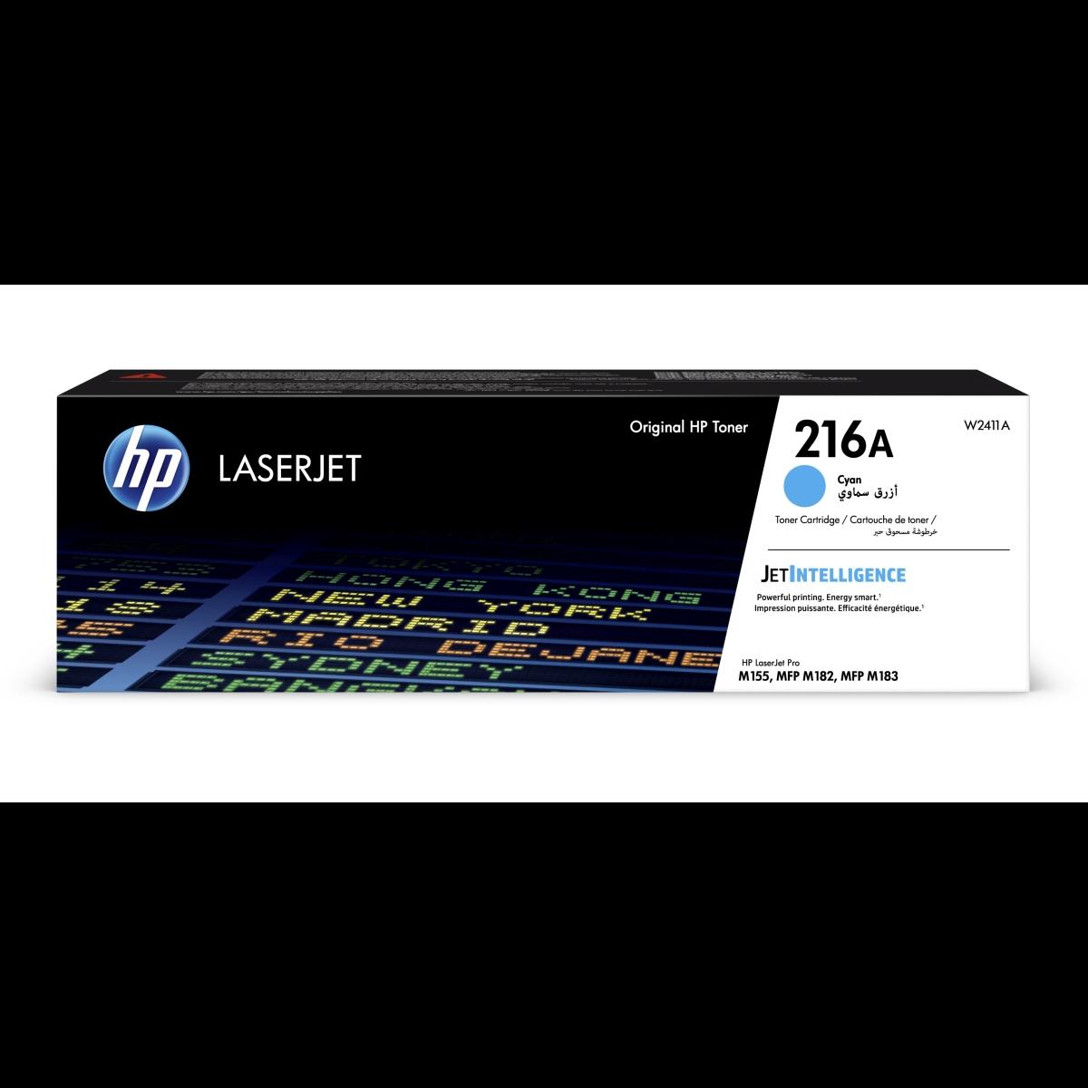 Toner HP 216A, HP W2411A - originálny (Azúrový)