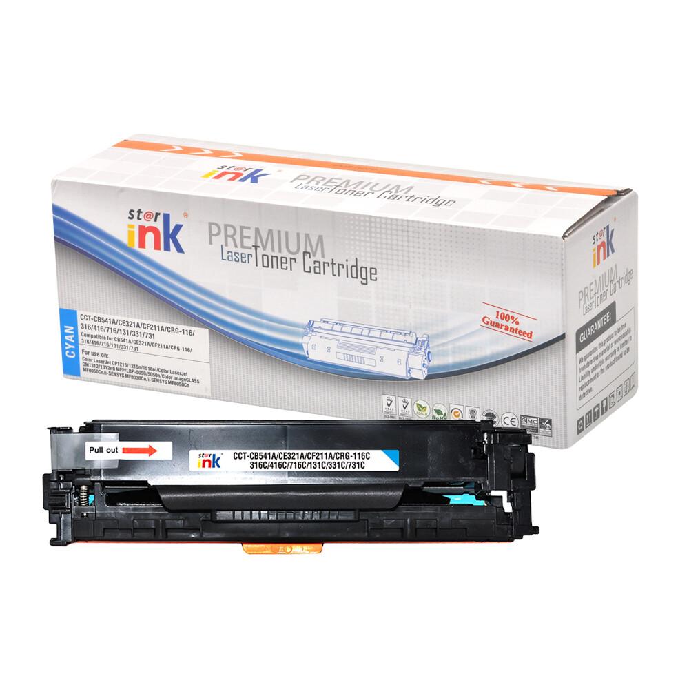 Starink kompatibilný toner HP 131A, HP CF211A (Azúrový)