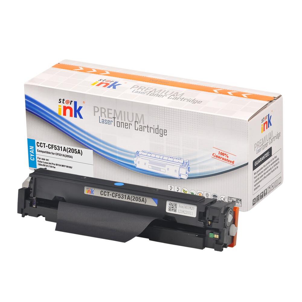 Starink kompatibilný s čipom toner HP 205A, HP CF531A (Azúrový)