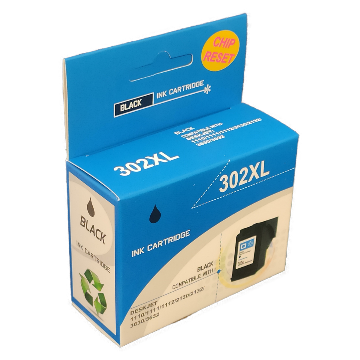 Tonery Náplně Cartridge HP 302XL, HP F6U68AE - kompatibilná (Čierna)