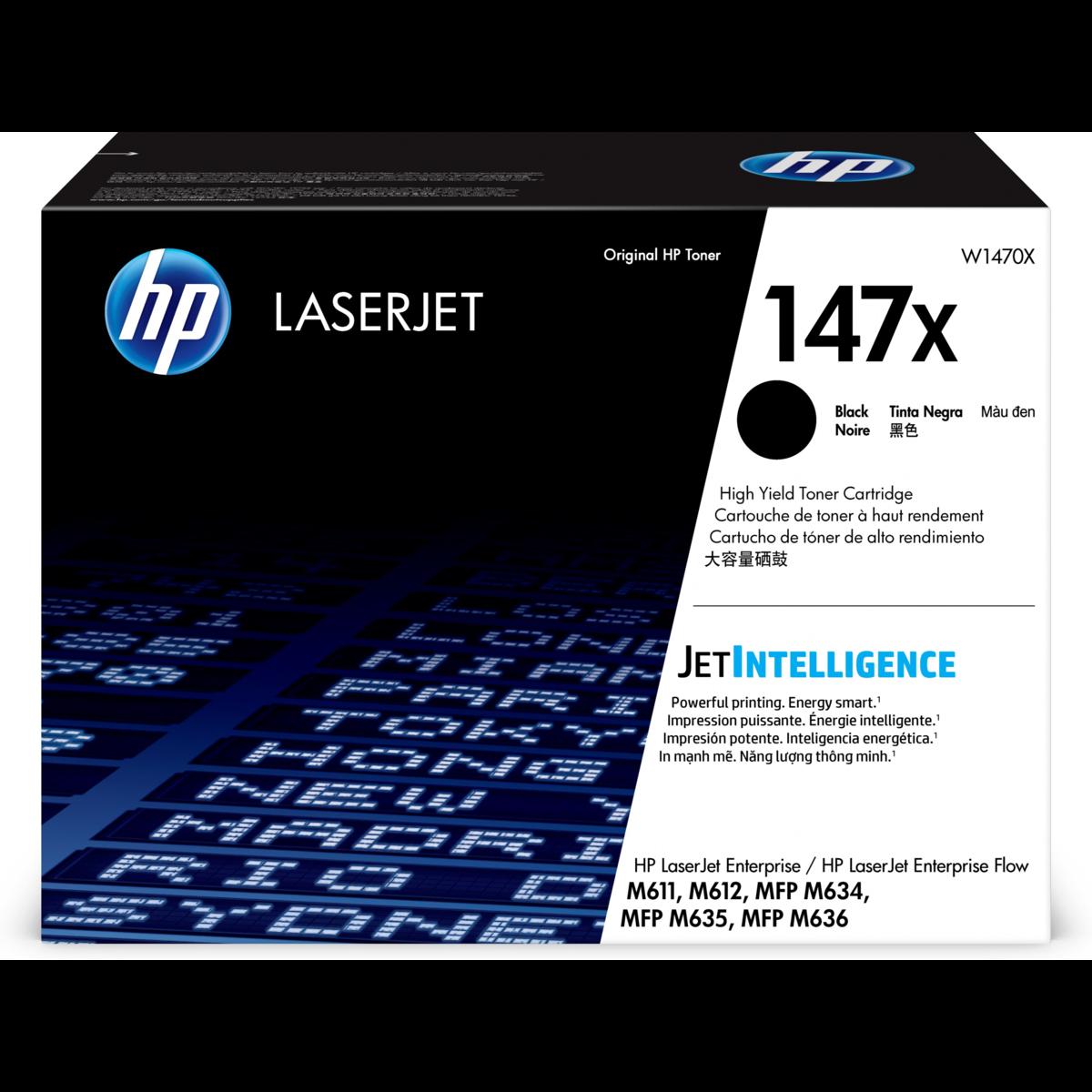 Toner HP 147X, HP W1470X - originálny (Čierny)