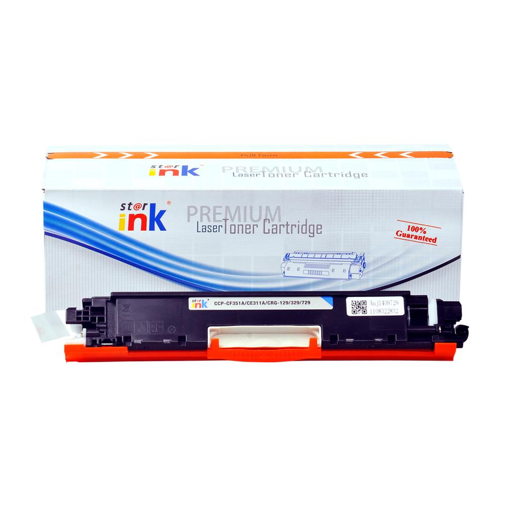 Starink kompatibilný s čipom toner HP 126A, HP CE311A (Azúrový)