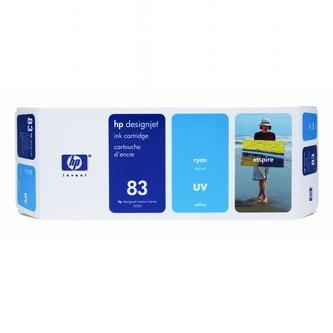 HP Atramentová cartridge HP DesignJet 5000, PS, UV, 5500, PS, UV, C4941A, modrá, No.% - originál