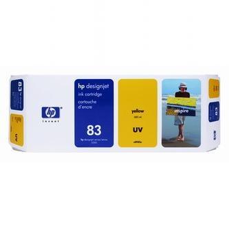 HP Atramentová cartridge HP DesignJet 5000, PS, UV, 5500, PS, UV, C4943A, žltá, No.% - originál