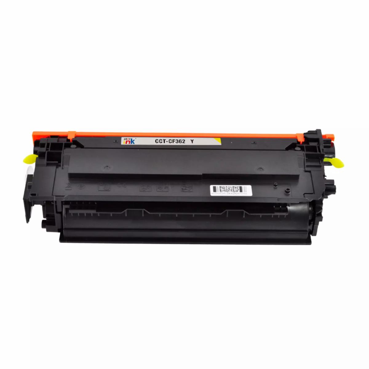 Starink kompatibilný toner HP 508X, HP CF362X (Žltý)
