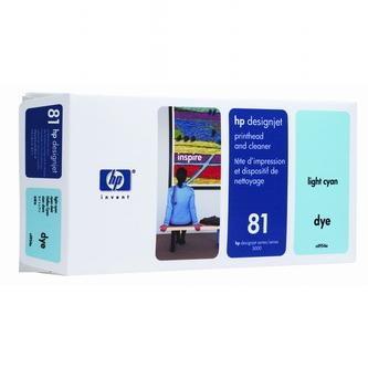 HP Tlačová hlava HP DesignJet 5000, PS, UV, 5500, PS, UV, C4954A, svetlomodrá, No.% - originál