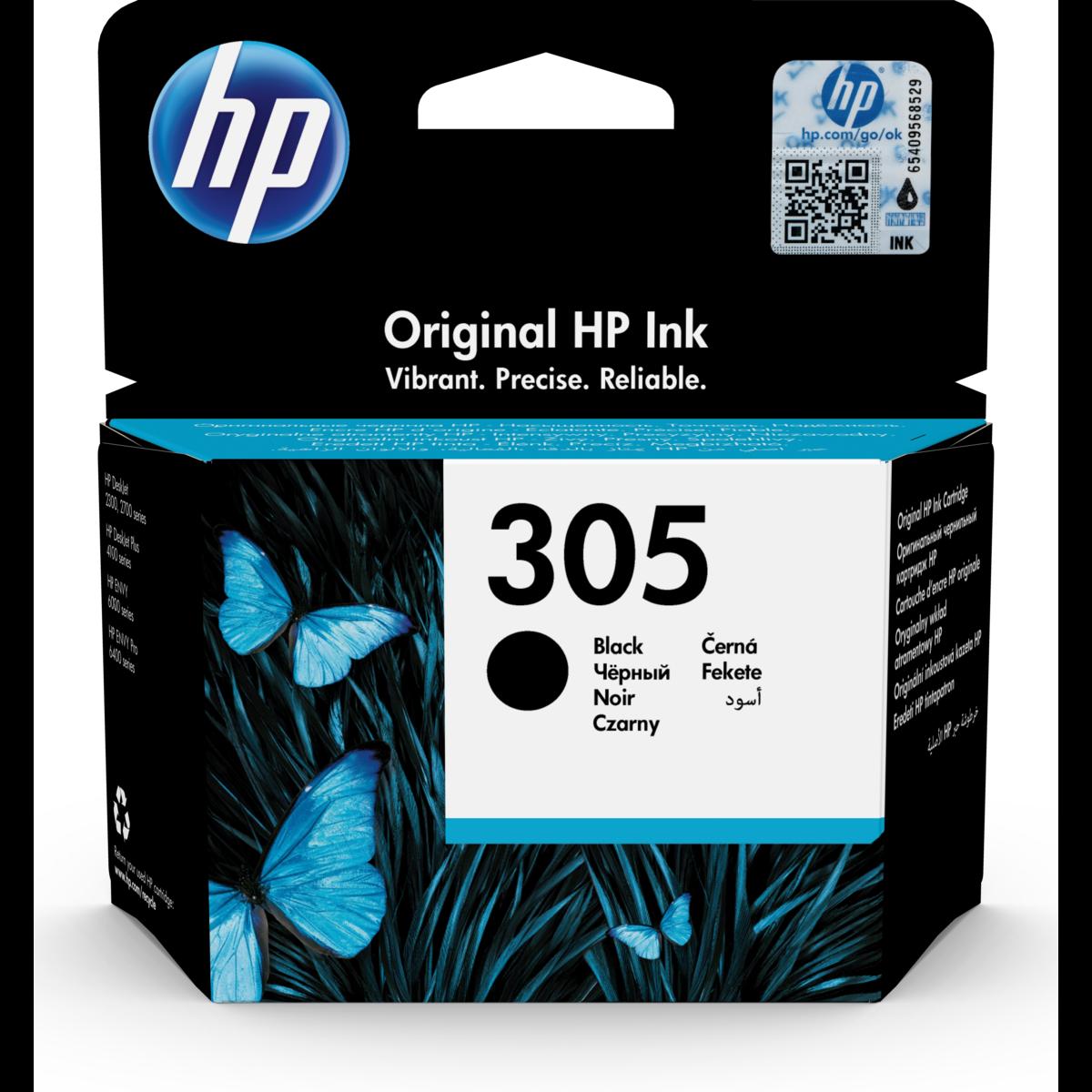 Cartridge HP 305, HP 3YM61AE - originálny (Čierna)