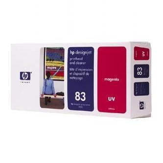 HP Tlačová hlava HP DesignJet 5000, PS, UV, 5500, PS, C4962A, červená, No. 83, tlač% - originál