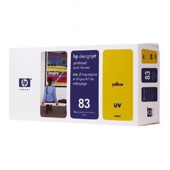 HP Tlačová hlava HP DesignJet 5000, PS, UV, 5500, PS, C4963A, žltá, No.83, tlačová% - originál