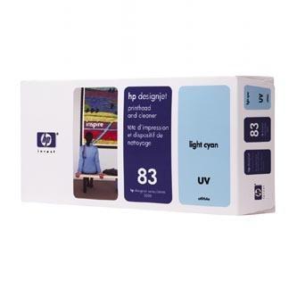 HP Tlačová hlava HP DesignJet 5000, PS, UV, 5500, PS, C4964A, svetlo modrá, No. 83,% - originál