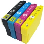 Cartridge Epson 502XL, C13T02W64010 - kompatibilní (Multipack CMYK)