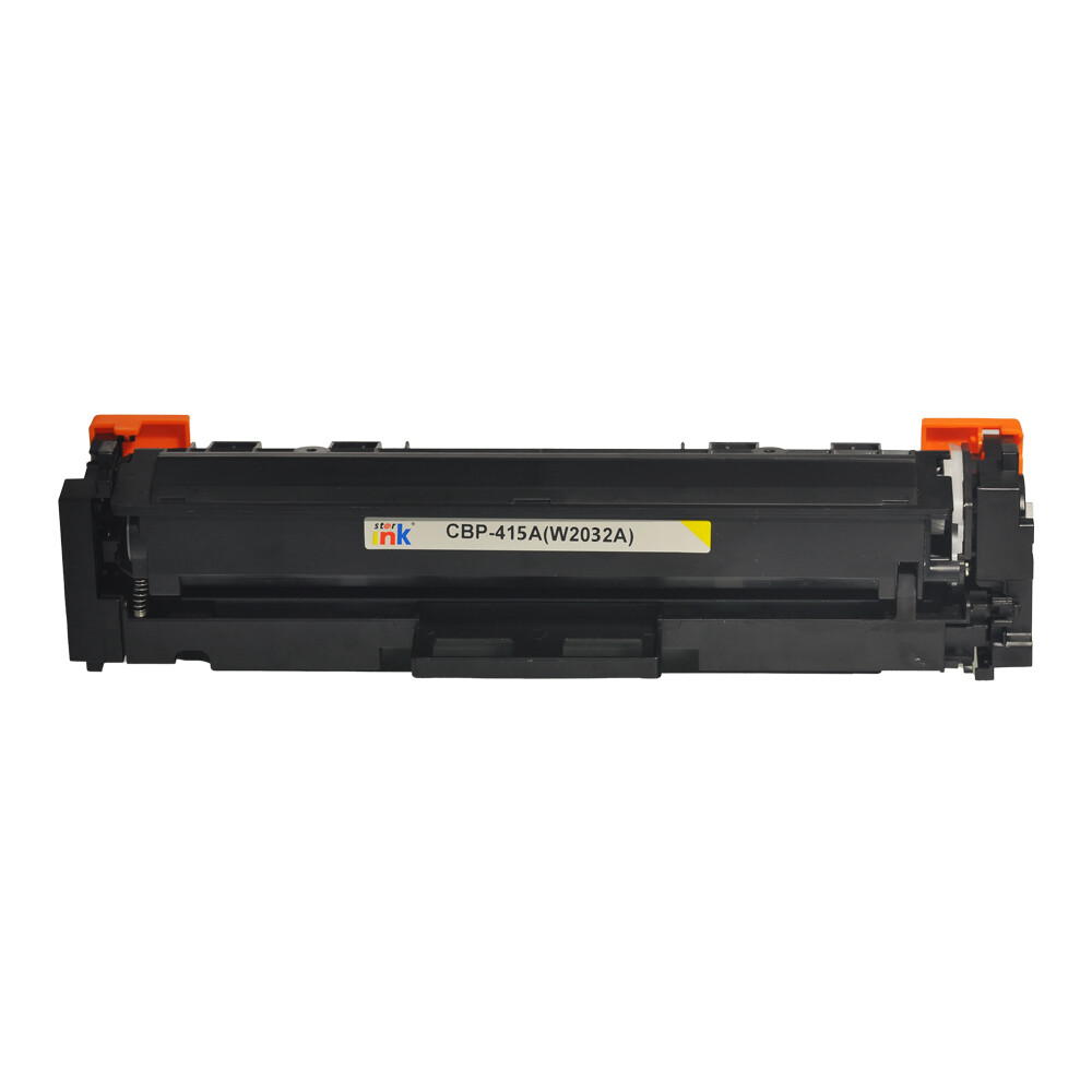 Starink kompatibilný toner HP 415A, HP W2032A bez čipu (Žltý)