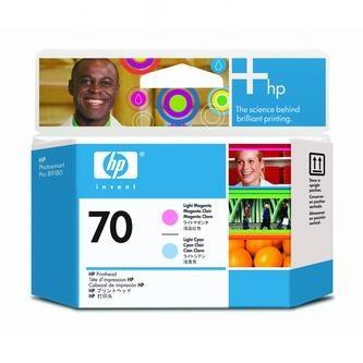 HP Tlačová hlava HP Photosmart Pro B9180, Designjet Z2100, Z3100, C9405A, svetlo mo% - originál