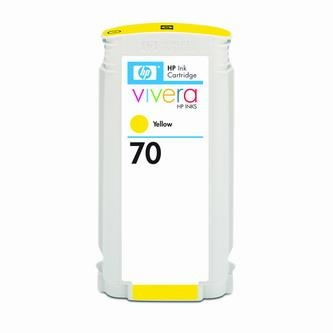 HP Atramentová cartridge HP Designjet Z3100, Z2100, C9454A, žltá, No. 70, 130 ml, O% - originál