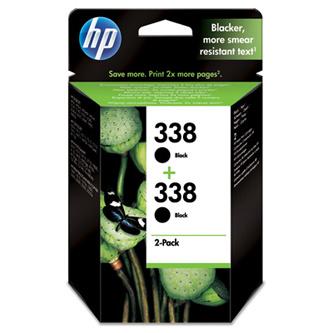 Cartridge HP 338, HP CB331EE originálny 2-pack (Čierna)