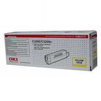 Oki Toner OKI Laser C3200, žltý, 42804537, 3000s, O - originál