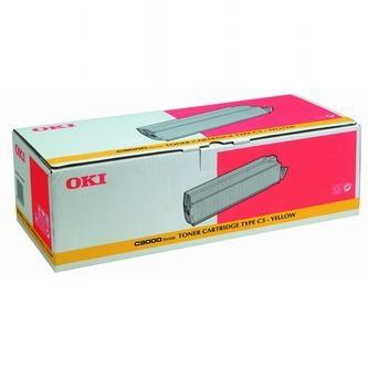 Oki Toner OKI C9000, 9200n, dn, 9400, žltý, 41515209, 15000s, TYP C3, O - originál