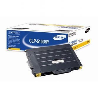 Samsung Toner Samsung CLP-510, N, žltý, CLP-510D5Y / ELS, 5000s, O - originál
