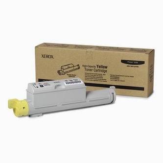 Xerox (Tektronix) Toner Xerox Phaser 6360, žltý, 106R01220, 12000s, O - originál
