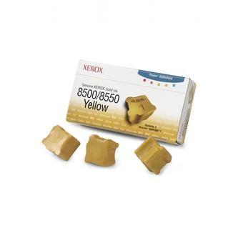 Xerox (Tektronix) Toner Xerox Phaser 8500, 8550, žltý, 108R00671, 3000s, 3 ks, O - originál