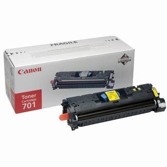 Toner Canon 701, 9284A003 (Žltý) - originálný