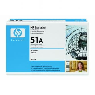 HP Tonerová cartridge HP LaserJet P3005, M3035mfp, M3027mfp, čierna, Q7551A, 6500s,% - originál