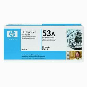 HP Tonerová cartridge HP LaserJet P2015, čierna, Q7553A, 3000s, O% - originál