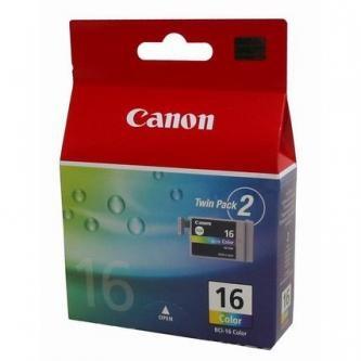 Canon BCI-16C, 9818A002, Twin-Pack (Farebné) - originálný