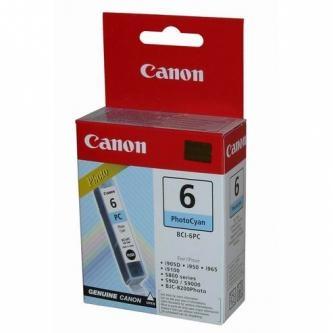 Cartridge Canon BCI-6PC, 4709A002 (Foto azúrová) - originálný
