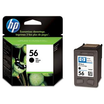 Cartridge HP 56 C6656AE (Čierna)% - originál