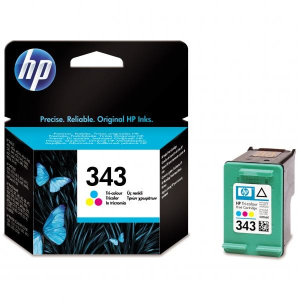 Cartridge HP 343, HP C8766EE (Farebná).cz% - originál