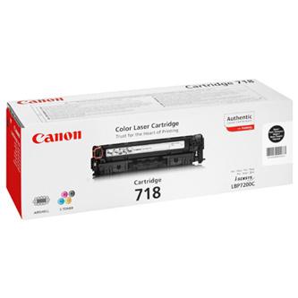 Canon 718, CRG-718, 2662B002 (Čierny) - originálný